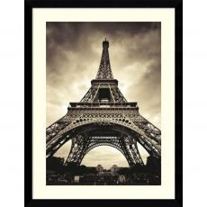 Black & White - Marcin Stawiarz Eiffel Tower Office Art