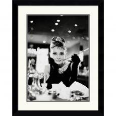 Audrey Hepburn-Breakfast at Tiffany's Office Art