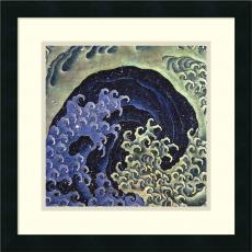 Beach & Ocean - Katsushika Hokusai Feminine Wave Office Art