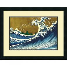 Katsushika Hokusai Big Wave (from 100 views of Mt. Fuji) Office Art
