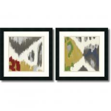 Rita Vindedzis Vibrant & Vivid - set of 2 Office Art