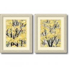 Closeout and Sale Center - H. Alves Early Spring - set of 2 Office Art
