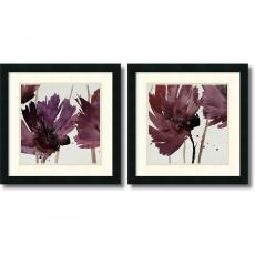 Watercolors - Natasha Barnes Room for More - set of 2 Office Art