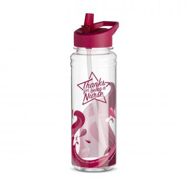 Thanks Nurse Star 25oz Tritan Water Bottle