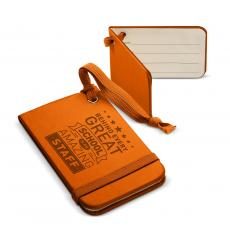 New Products - Behind Every Great School Tuscany Luggage Tag