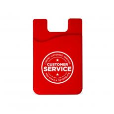 Tech Accessories - Customer Service Silicone Mobile Wallet