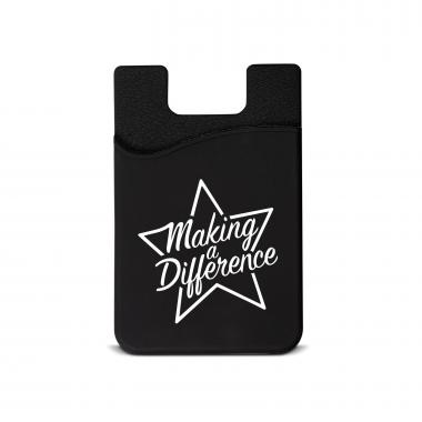 Making a Difference Silicone Mobile Wallet