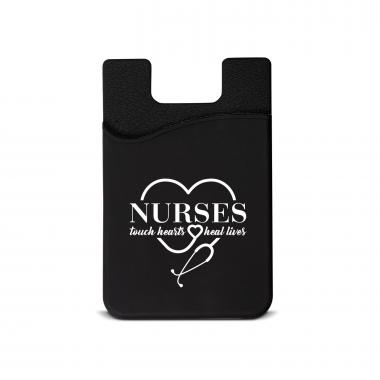 Nurses Touch Hearts Silicone Mobile Wallet