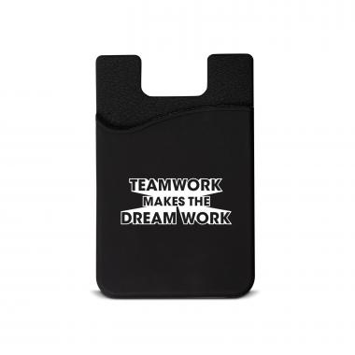 Teamwork Dream Work Silicone Mobile Wallet