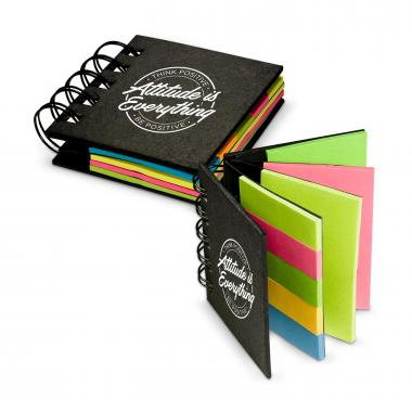 Attitude is Everything Spiral Sticky Note Booklet