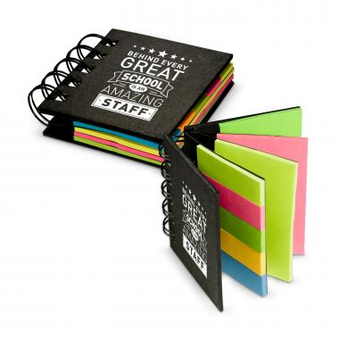 Behind Every Great School Spiral Sticky Note Booklet