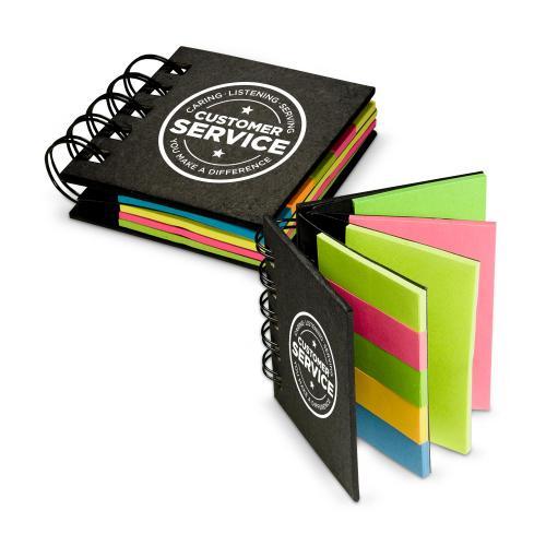 Customer Service Spiral Sticky Note Booklet