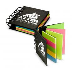 Office Supplies - Great Teachers Spiral Sticky Note Booklet