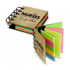 Nurses Gifts - Nurses Making a Difference Spiral Sticky Note Booklet