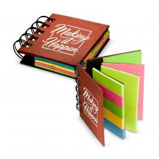 Office Supplies - Making it Happen Square Spiral Sticky Note Booklet