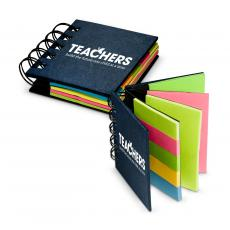 Teachers Build Futures Spiral Sticky Note Booklet