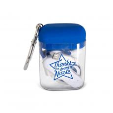 National Nurses Day - Thanks Nurse Star Value Bluetooth Earbuds & Case