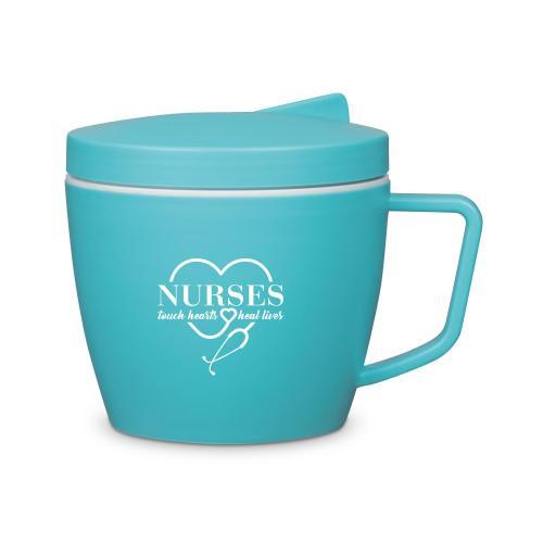 Nurses Touch Hearts Thermal Mug Set
