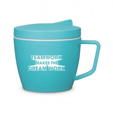 Teamwork Dream Work Thermal Mug Set