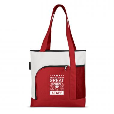 Behind Every Great School Brilliant Large Tote