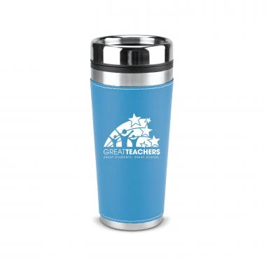 Great Teachers 16oz Leatherette Tumbler