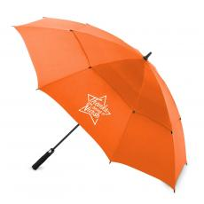 "National Nurses Day - Thanks Nurse Star 60"" Auto-Open Vented Golf Umbrella"