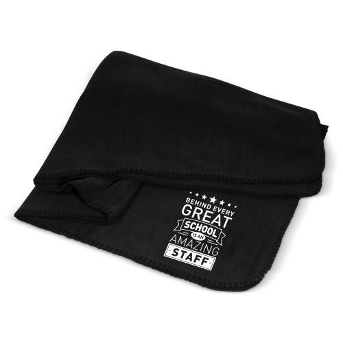 Behind Every Great School Cozy Fleece Blanket