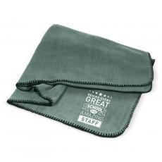 Home & Auto - Behind Every Great School Cozy Fleece Blanket