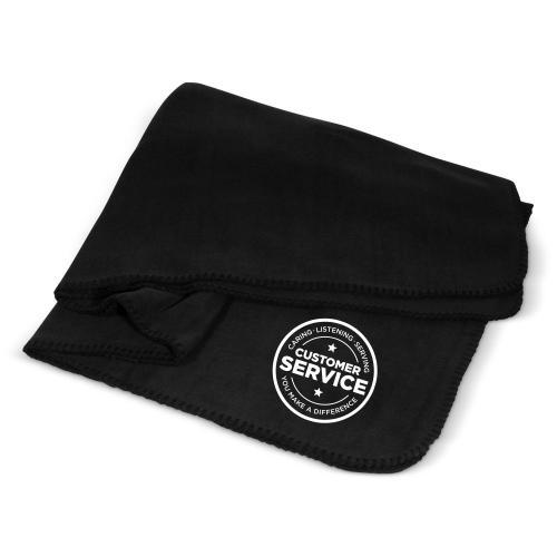 Customer Service Cozy Fleece Blanket