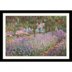 Claude Monet Jardin a Giverny (Garden at Giverny) Office Art