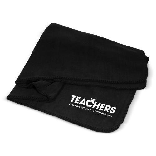 Teachers Build Futures Cozy Fleece Blanket