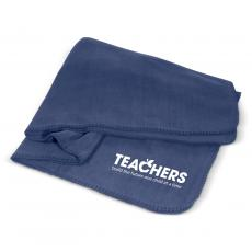 Teacher Appreciation Week - Teachers Build Futures Cozy Fleece Blanket
