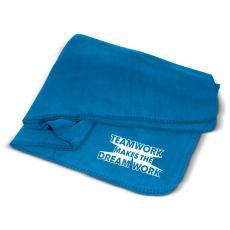 Home & Auto - Teamwork Dream Work Cozy Fleece Blanket