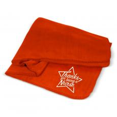 Nurses - Thanks Nurse Star Cozy Fleece Blanket