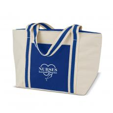 National Nurses Day - Nurses Touch Hearts Insulated Mini Tote Lunchbag
