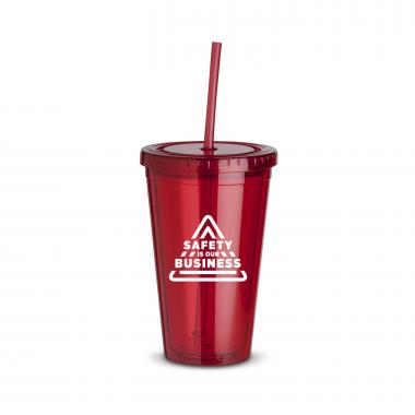 Safety is Our Business 16oz Straw Tumbler