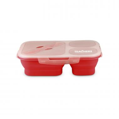 Teachers Build Futures Collapsible Trio Food Container