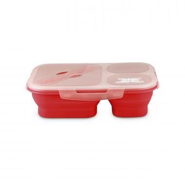 Teamwork Dream Work Collapsible Trio Food Container