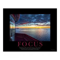 Classic Motivational Posters - Focus Lighthouse Motivational Poster