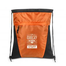 Bags - Behind Every Great School Value Cinch Backpack
