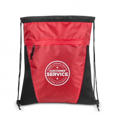 Customer Service Value Cinch Backpack