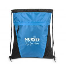 Nurses - Nurses Making a Difference Value Cinch Backpack