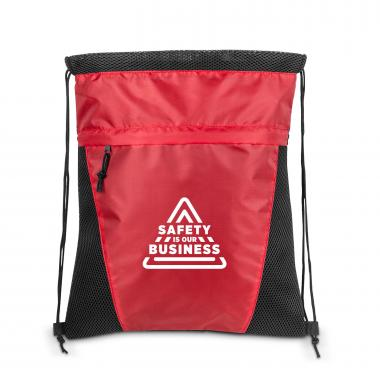 Safety is Our Business Value Cinch Backpack