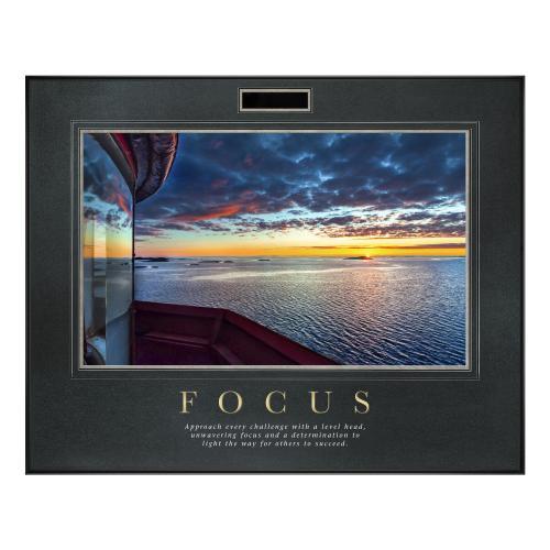 Focus Lighthouse Motivational Poster