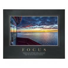 Focus Lighthouse Motivational Poster  (734970)