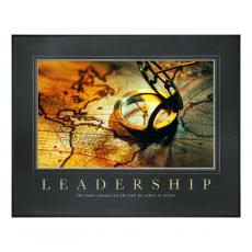 Leadership Compass Motivational Poster Classic (734971) - $139.99