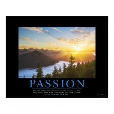 All Motivational Posters - Passion Sunrise Motivational Poster