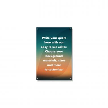 Create Your Own Wall Art Sunset