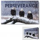 Perseverance Eagles Motivational Art