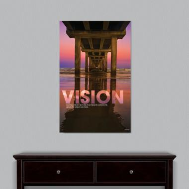 Vision Bridge Motivational Art